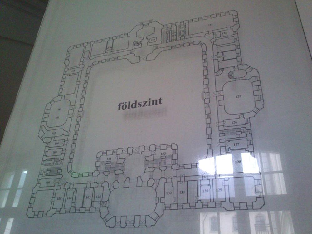 Líceum térkép