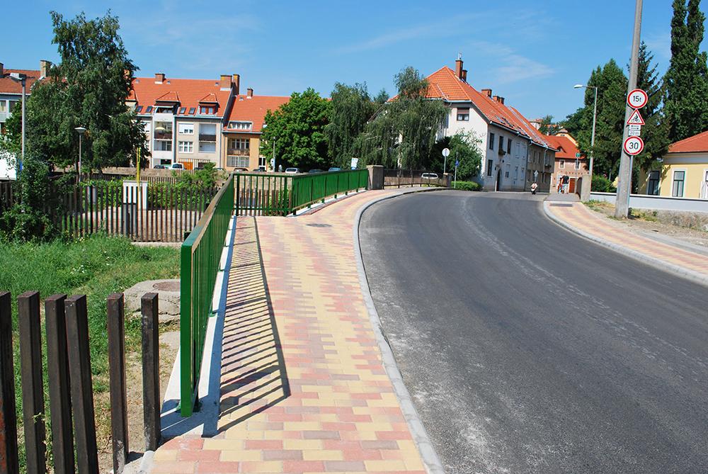 Knézich Károly utcai híd - Ilyen lett