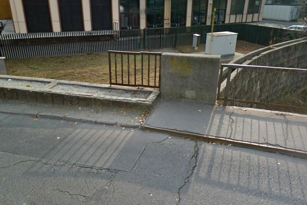 Knézich Károly utcai híd - Ilyen volt