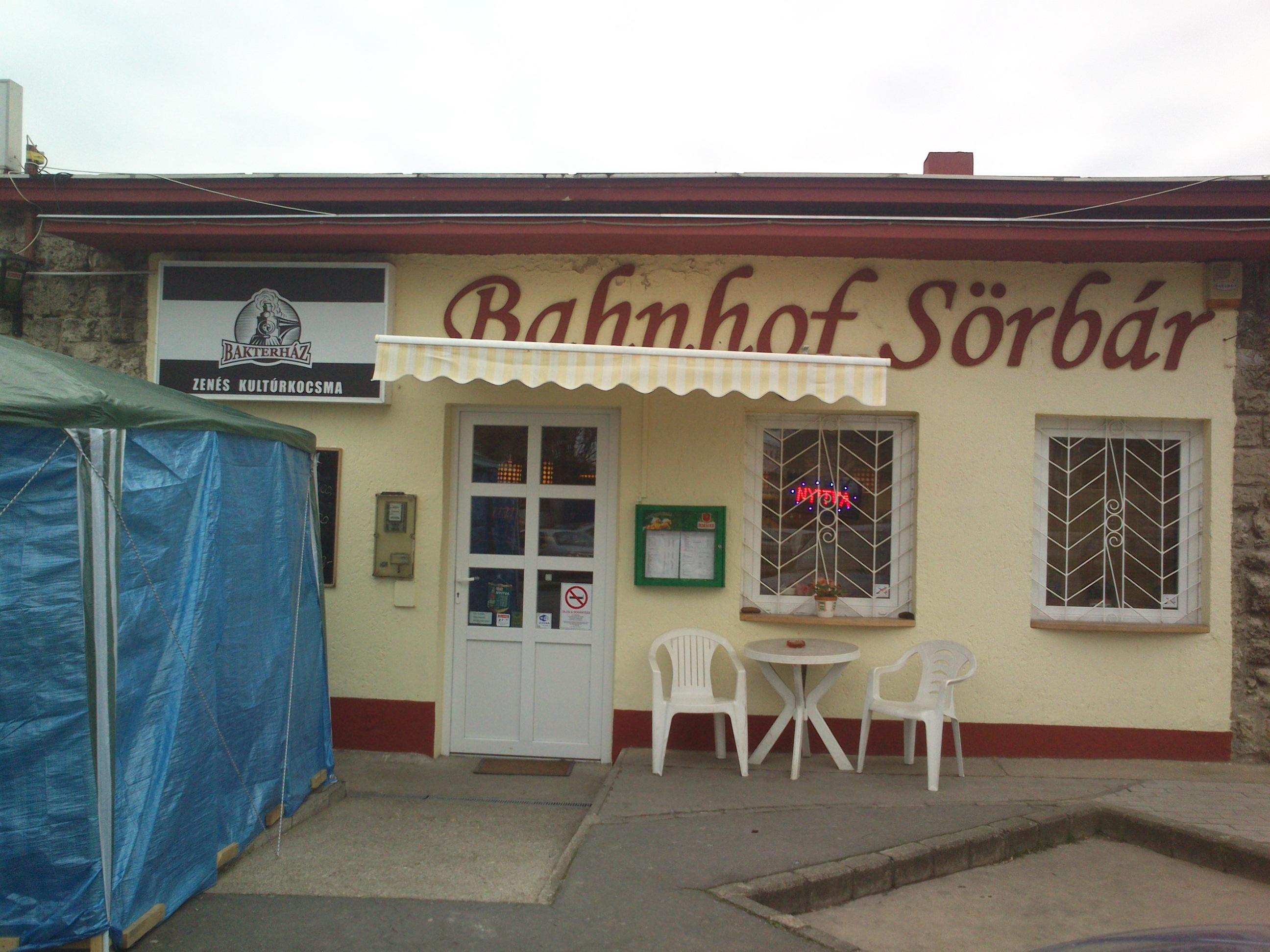 Bahnhof Sörbár